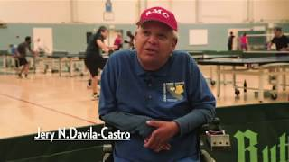 Tribute to Jo Kidd, Table Tennis Instructor