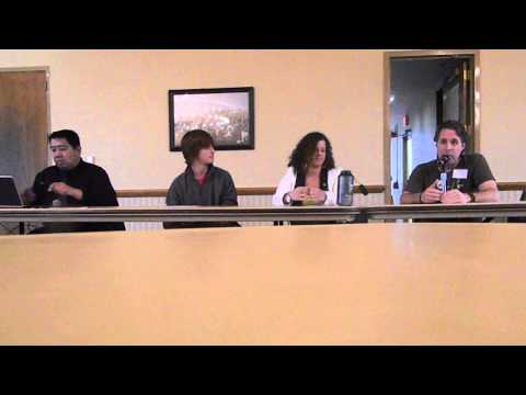 DSCN9011 2013-04-17 Part 1 Panel Discussion Environmental Organizations & Activism NIU