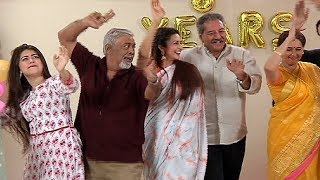 Yeh Hai Mohabbatein 5 Years Celebration Divyanka Tripathi Karan Patel Aditi Bhatia