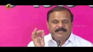 Revanth Reddy Commenting on Health Minister Laxma Reddy Is Shameful | TRS Karne Prabhakar