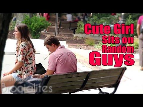 New Funny Prank | Cute Girl Sits on Random Guys | ComedyON thumbnail
