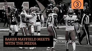 After throwing an interception on the cleveland browns' opening offensive series for second time in as many weeks, it looked like baker mayfield's showin...