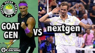 US OPEN 2019 - Nadal Medvedev Finals Preview