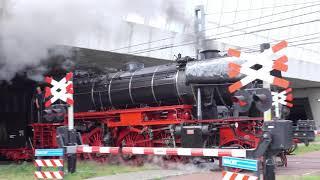 Hoogoven express SSN Rotterdam via Westhaven Amsterdam naar huis.