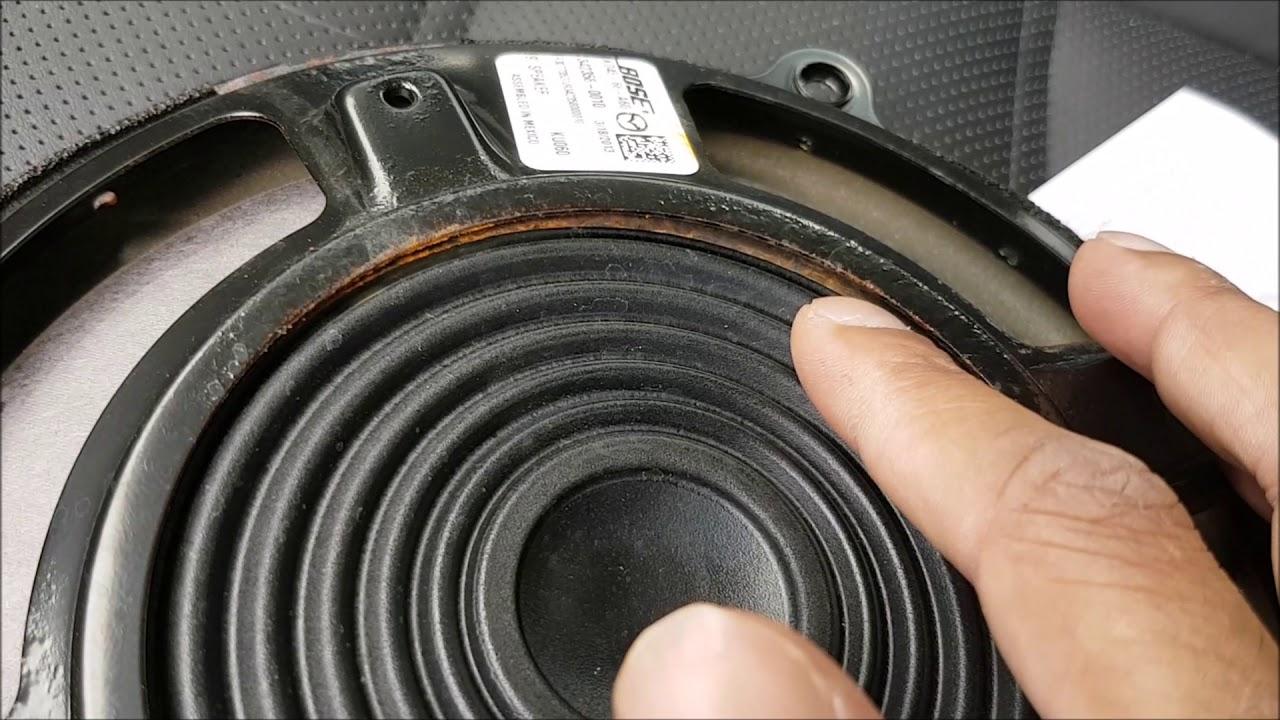 Mazda 2014 Bose Speaker Fix