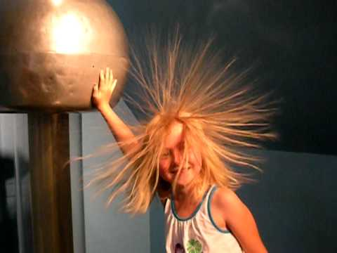 Static electricity ball at the magic house youtube - Remove static energy ...
