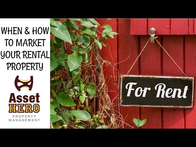 Asset Hero Property Management | How to Market a Rental Property