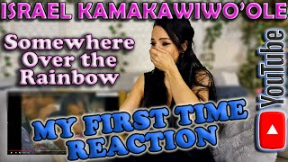 First Time Reaction to Israel IZ Kamakawiwoʻole - Somewhere Over The Rainbow, Very Emotional