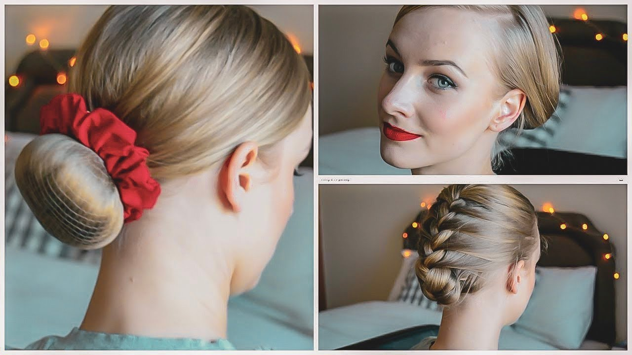 3 easy flight attendant hair-styles