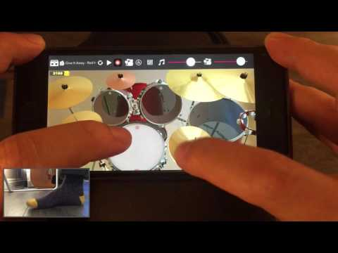 DrumKnee 3D App - Give it Away - Red Hot Chili Peppers cover