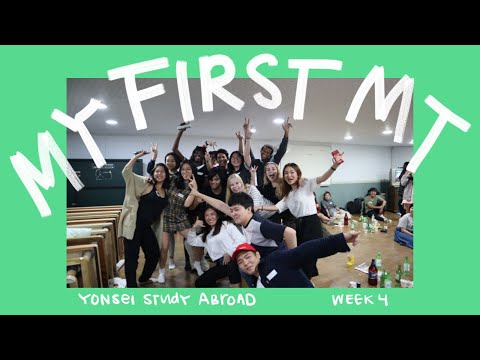 MY FIRST MT ☆ Yonsei Study Abroad Week 4
