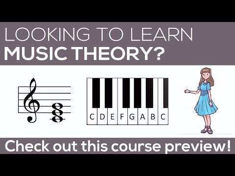 Music Theory 2 - Course Preview - Learn Intervals and Triads