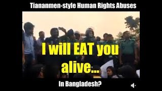 Attack on Peaceful Student Protesters in Bangladesh!