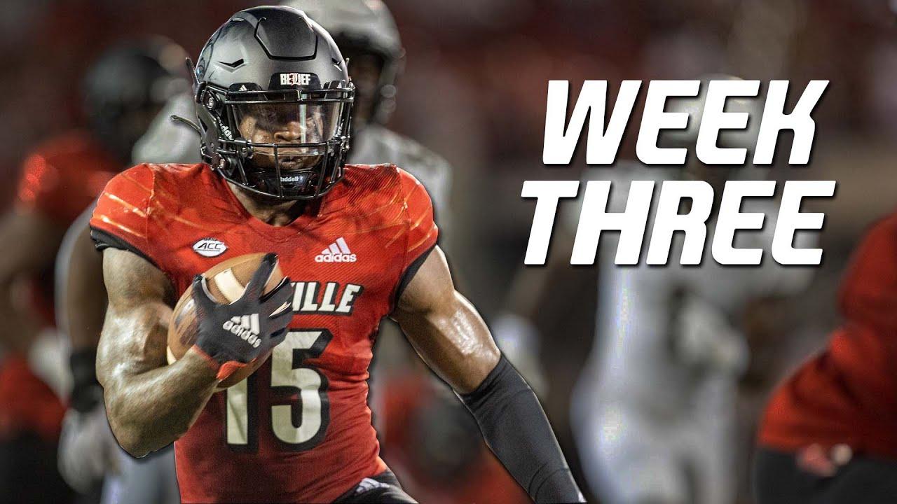 College Football Best Plays of Week 3   2021-22 ᴴᴰ