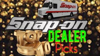 Snap On Dealer's Top 10 Tools