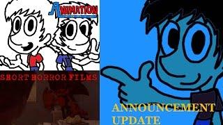 SHORT HORROR FILM & ANIMATION COMIC UPDATE