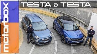 Fiat 500X Mirror VS Volkswagen T-Roc Style   Sfida tra crossover urbane