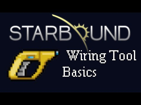 starbound guide wiring tool basics youtube rh youtube com Tools for Wiring a Building Phone Wiring Tools