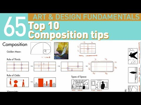 My Top 10 Composition Tips for artists