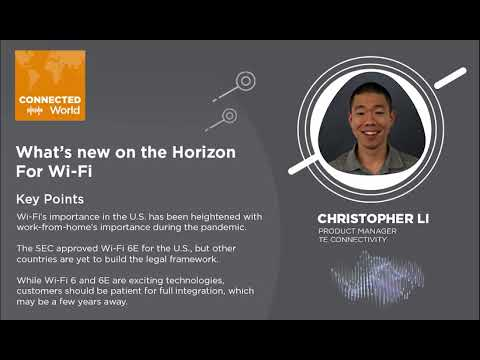What's on the Horizon for Wi-Fi | CONNECTED World
