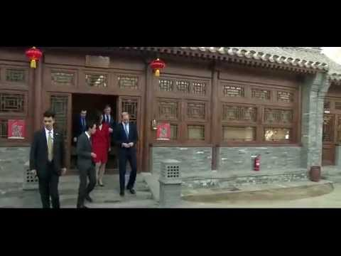 Prince William meets Chinese President Xi Jinping