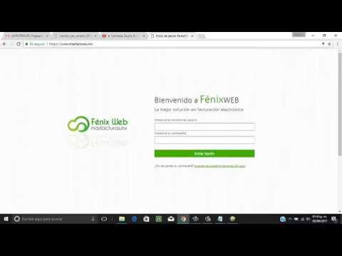 tutorial migrar cfdi a la version 3 3 de fenix web mas facturas