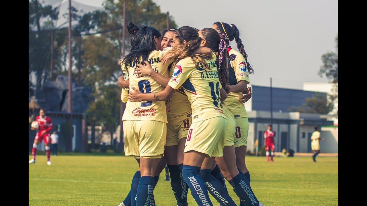 América Femenil 3 (5) - (3) 1 Toluca Femenil | 4tos de Final - Vuelta | Liga MX Femenil