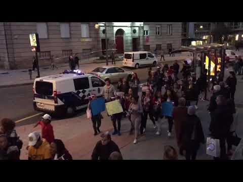 """Los dominicanos se manifiestan en Ourense por unas elecciones """"libres"""" en su país"""