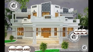 Indian House Design By 99HOMEPLANS COM [ Esp: M023 ]