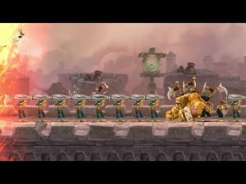 Rayman Legends Definitive Edition demo footage