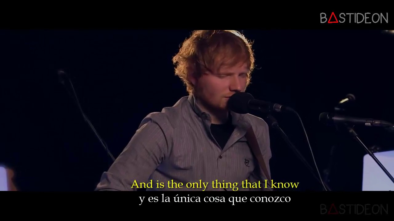 Ed Sheeran Photograph Sub Español Lyrics Youtube