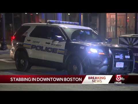 Man stabbed in Boston