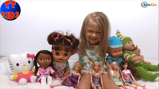 ✔ Куклы Ярославы / Baby Born Nenuco Alive Barbie Doc Mcstuffins Steffi / Yaroslava's Dolls ✔