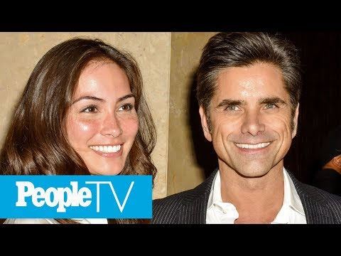 John Stamos Shares His Love Story With Caitlin McHugh  PeopleTV