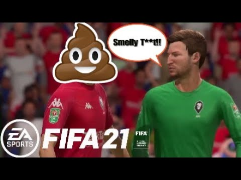 Funny FIFA 21 Glitch | Defenders Give Away Penalties And Then S**t Themselves!!??