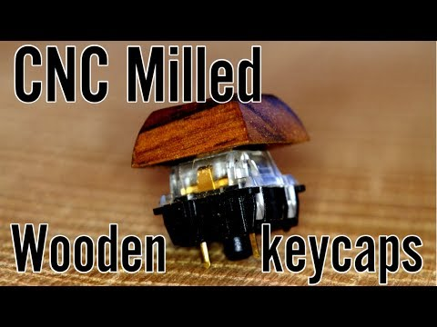Milling keycaps & Give away