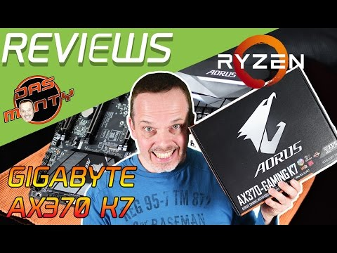 Gigabyte Aorus AX370 Gaming K7 - Review-Test-Unboxing | High