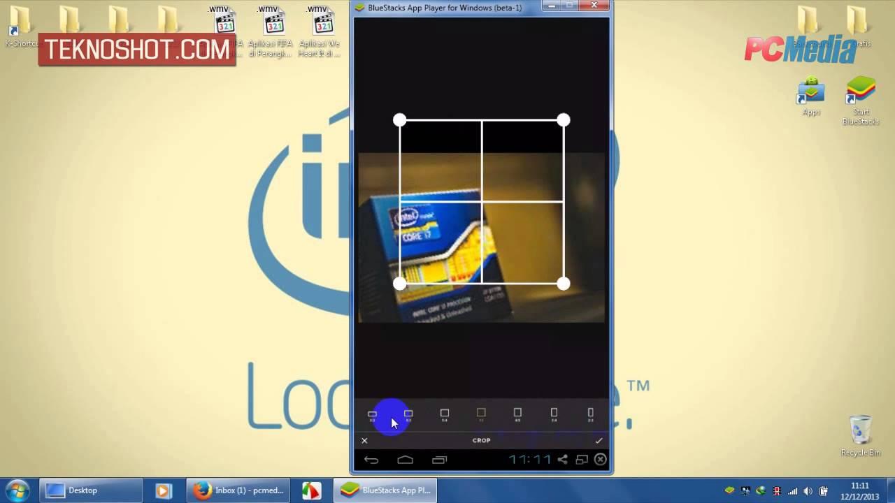 Aplikasi VSCO Cam di Perangkat Android (BlueStacks)