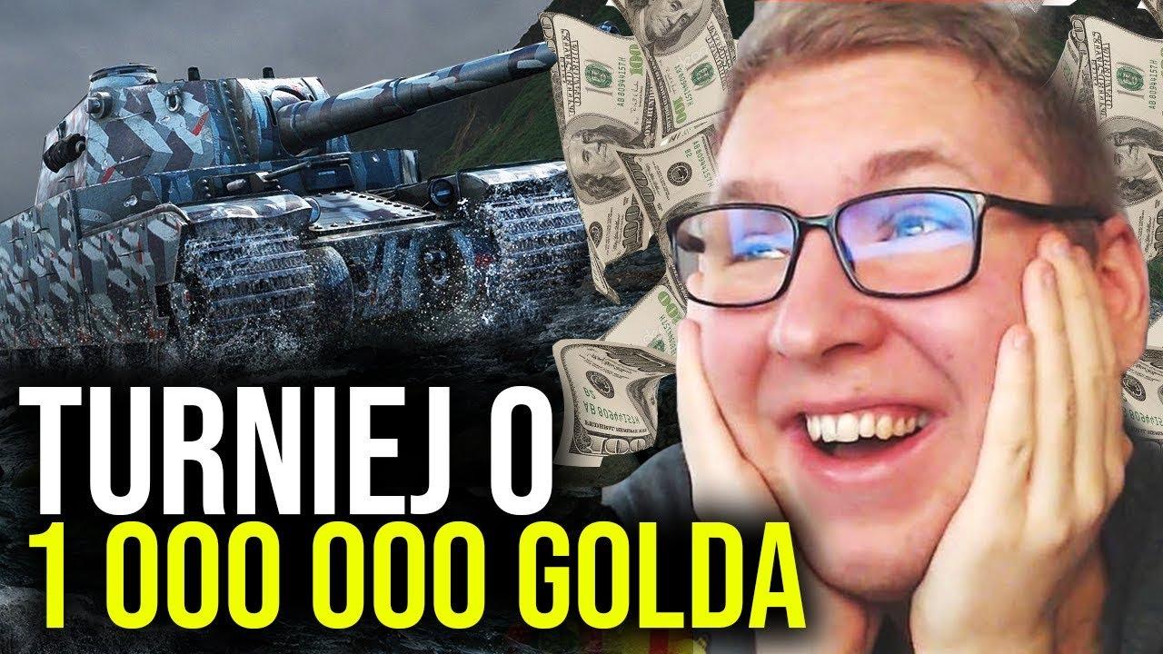 TURNIEJ o 1 000 000 ZŁOTA - Najlepszy Klan w World of Tanks