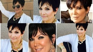 Kardashian Mom Kris Jenner Inspired Look