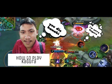 Tutorial game play kagura!!! Mencurahkan isi hati pejuang solo rank Mobile Legend BangBang thumbnail