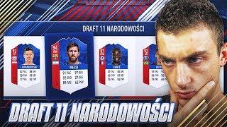 DRAFT 11 NARODOWOŚCI | FIFA 18