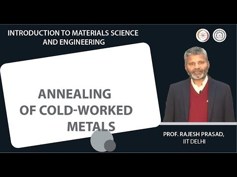 Annealing of cold-worked metals