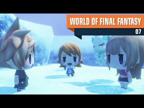 World of Final Fantasy #07 - Icicle Ridge [PS4] [PT-BR]
