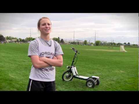 LYRIC Motion Electric Scooter: The worlds best way to commute to school, work or Lacrosse practice!
