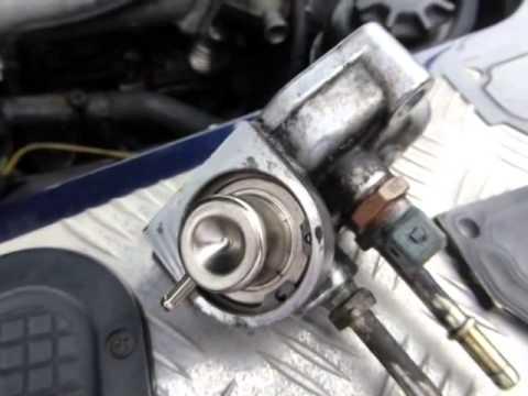 Ford Focus Bumper Diagram Changing A Land Rover Td5 Fuel Pressure Regulator Youtube