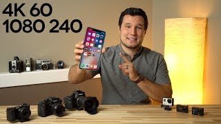 iPhone shoots 4K 60P & 1080 240FPS but your camera doesn