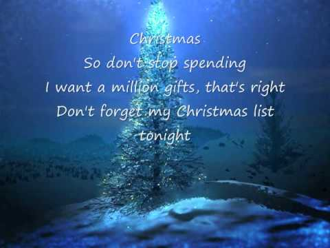 My Christmas List - Simple Plan Lyrics