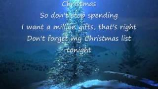 My Christmas List - Simple Plan Lyrics