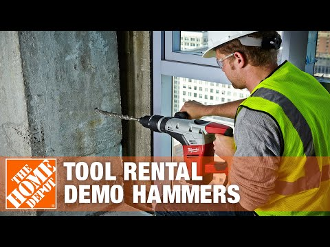 Tool Rental - Demo Hammers | The Home Depot - YouTube